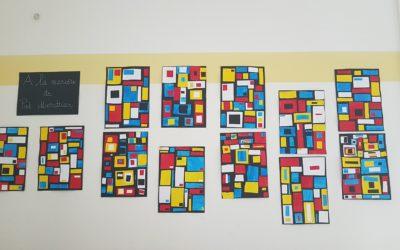 A la manière de Piet Mondrian
