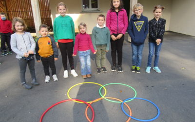 La rentrée avec l'UGSEL: les anneaux olympiques